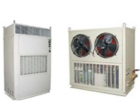 Air cooled packaged air conditioner