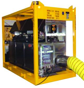 Portable Dehumidifier for Hazardous Areas